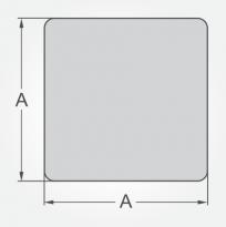 Calculator for Square steel bars